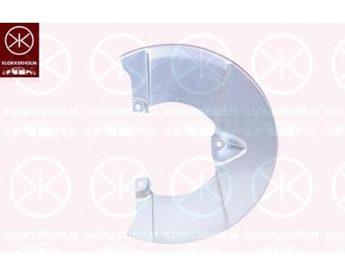 Кожух тормозного диска передний Iveco Daily IV 06-12, Klokkerholm