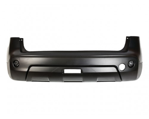 Бампер задний с заглушкой и разметкой для парктроника Nissan Qashqai 10/06 - 02/10, Isam