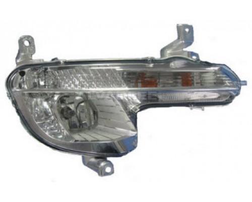 Фара противотуманная правая Peugeot 508 12- , Depo