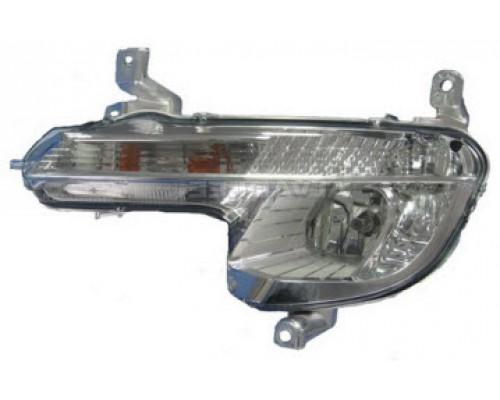 Фара противотуманная левая Peugeot 508 12- , Depo