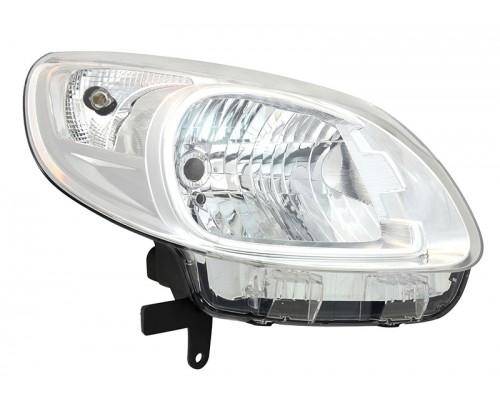 Фара правая Renault Kangoo 13 светлый отражатель