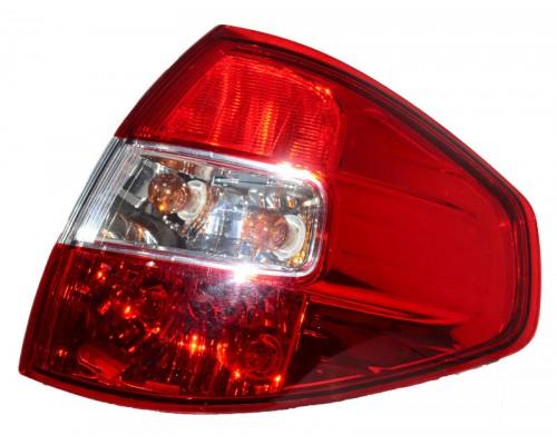 Фонарь задний правый Renault Koleos - 09/08- внешний, Depo