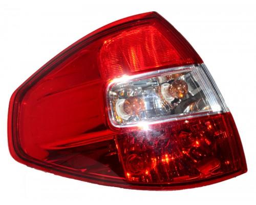 Фонарь задний левый Renault Koleos - 09/08- внешний, Depo
